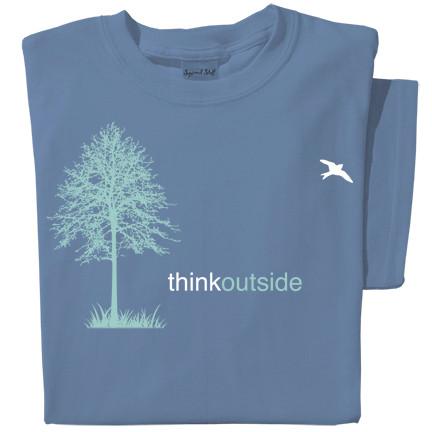 Organic Cotton Tree Ladies T-shirt | ThinkOutside