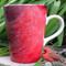 Cardinal Latte Mug | 12 oz. ceramic