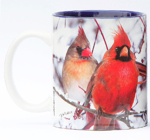 Winter Cardinals Mug