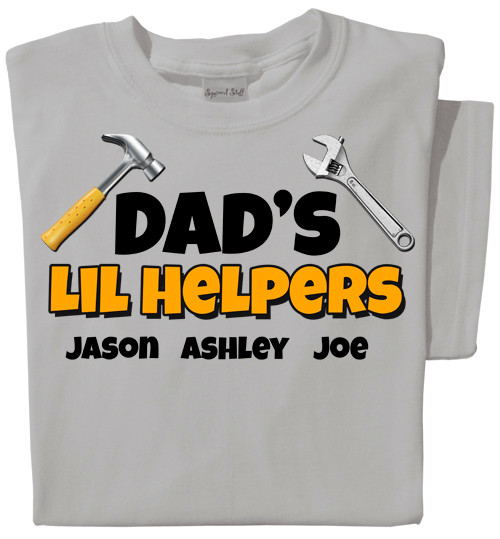 Lil Helpers Personalized T-shirt | Toddler sized