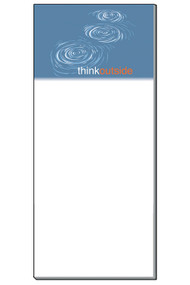 This Think Outside Skip Stone Magnetic Notepad