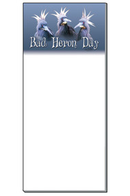 Bad Heron Day Notepad