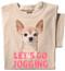 Let's Go Jogging T-shirt   Chihuahua Dog Shirt