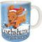 Dachshund Through the Snow Mug   Funny Dog Mug