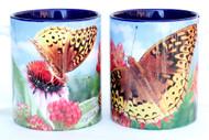 Fritillary Butterfly Mug | Ceramic 11 oz. | Jim Rathert Photography