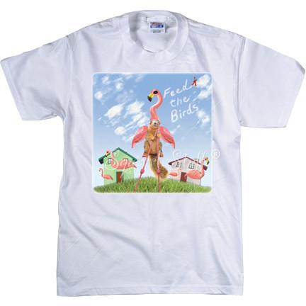 Feed the Flamingo T-shirt