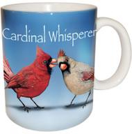 Cardinal Whisperer Mug | Funny Bird Coffee Mug