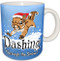 Dashing through the Snow Squirrel Mug