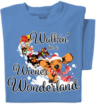 Walkin' in a Wiener Wonderland | Dachshund T-shirt