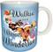 Walkin' in a Wiener Wonderland Dachshund Mug | Christmas Mug