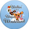 Walkin' in a Wiener Wonderland Dachshund Coasters | Front