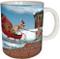 Christmas Sleigh Squirrel Mug | Christmas Mug