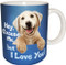 Hey Excuse Me, but I Love You | Dog Mug