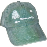 ThinkOutside Tree Hat | Green High Quality Embroidered Cotton Cap