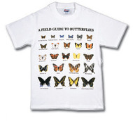 Field Guide to Butterflies T-shirt