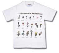 Field Guide to Flowers T-shirt