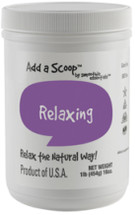 Add a Scoop Relaxing Blend-Relax the natural way! Relaxing Blend can assist you and ease you into calming down after a busy day.