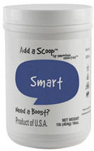 """The """"smart"""" comes from this blend's ingredients that naturally encourage oxygen and blood to flow to the brain, which is necessary to think and talk more clearly"""