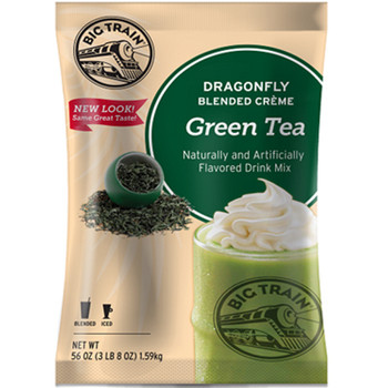 You don't need a passport to transport yourself to a tropical destination with this unique Asian-inspired creamy green tea blended drink. In addition to being coffee-free, Green Tea Dragonfly is easy to make,