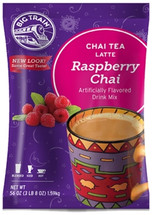 Taste the drink that has been savored for centuries in India and refresh your body and soul with the creamy blend of honey, raspberry, black tea and exotic spices.