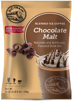 Rich milk chocolate meets nutty, roasted malt flavor in our velvety textured Chocolate Malt Blended Ice Coffee. Yum! This incredibly popular beverage has captivated coffee lovers all over the world with our artfully blended mix of Arabica coffee and the finest ingredients.