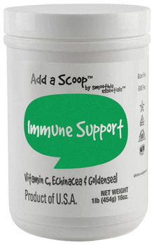 Herbs like Echinacea, Goldenseal, and vitamin C will help keep your immune system running in optimum performance. 96 servings per 1-pound canister.