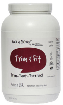 An added boost for those trying to drop weight. Combine with exercise and a healthy diet for smart results. 420 servings per 5-pound canister