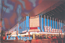 Binion's Horseshoe Club Las Vegas Postcard