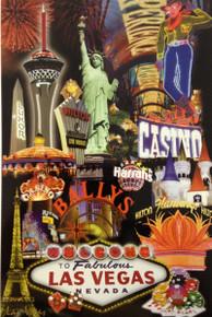 Las Vegas Hotels Postcard 0032