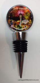 Las Vegas Hotels Fireworks Wine Bottle Topper