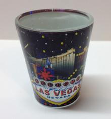 Las Vegas Hotels Shot Glass U2268