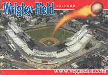 Wrigley Field Chicago Postcard