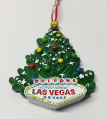 Las Vegas Christmas Tree Ornament