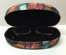 Las Vegas Strip Hotels Eyeglass Sunglass Holder Hard Case