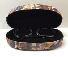 Las Vegas Sign Hotels Eyeglass Sunglass Holder Hard Case