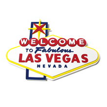 Welcome To Fabulous Las Vegas Foam Wall Sign