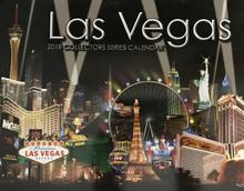 2018 13 Month Las Vegas Wall Calendar