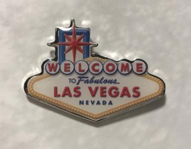 Welcome To Fabulous Las Vegas Sign Lapel Pin