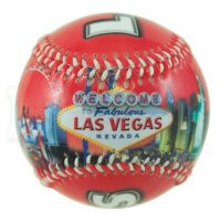 Las Vegas Red Skyline Baseball