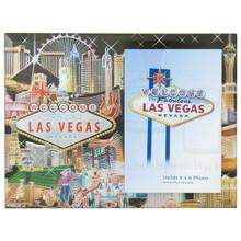 Las Vegas Collage Foil Picture Frame