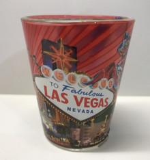 Las Vegas Sign Martini Shot Glass
