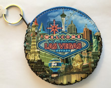 Las Vegas Round Coin Purse