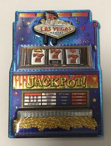 Welcome To Las Vegas Slot Machine Magnet