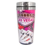 Las Vegas Sign Royal Flush Travel Mug
