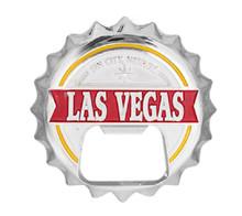 Las Vegas Red Magnetic Bottle Opener