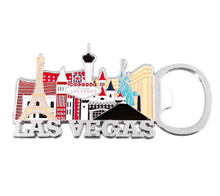 Las Vegas Sign Hotels Casino Magnetic Bottle Opener
