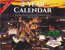 2019 2020 24 Month 2 Year Las Vegas Wall Calendar Kegley