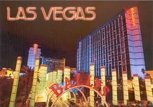 Ballys Las Vegas Postcard