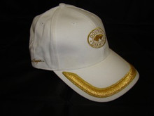 Double Diamond Slots White/Gold Cap