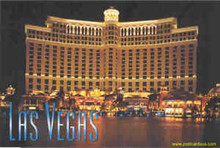 "Bellagio Las Vegas Postcard 4"" x 6"""
